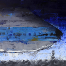 747 | oil on hardboard, 13o x 1oo cm