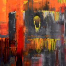 bastille | oil on hardboard, 42 x 59 cm