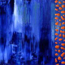 deep sea | oil on hardboard, 59 x 42 cm