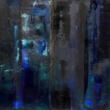 forest | oil on hardboard, 59 x 42 cm