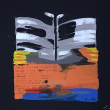 shoggle | acrylic on canvas, 7o x 7o cm