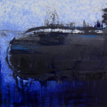 submarine | oil on hardboard, 13o x 1oo cm