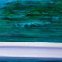 crash barrier o1 [sketch] | oil/acrylic on canvas, 7o x 5o cm