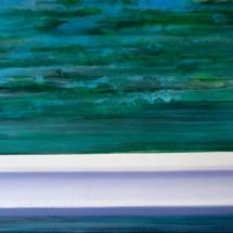 crash barrier o2 [sketch] | oil/acrylic on canvas, 7o x 5o cm