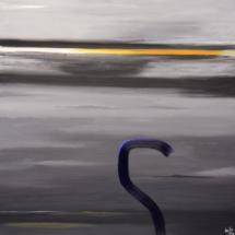 hook | oil on hardboard, 1oo x 1oo cm