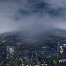 rainy morning | oil on canvas, 7o x 5o cm