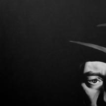 jean gabin | oil on canvas, 6o x 8o cm