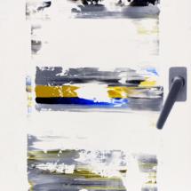 window o3 | oil on hardboard, 59 x 42 cm