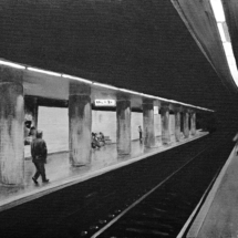 subway o1 | acrylic on canvas, 6o x 5o cm